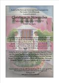Garden Club Bermuda Christmas in November