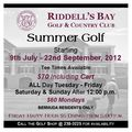 Riddells Bay Summer Golf