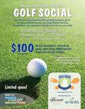 TEDS Golf Social Invite