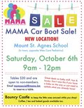 MAMA Car Boot Sale