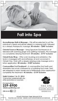 Elbow Beach Spa Offers