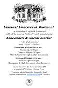 Concert at Verdmont