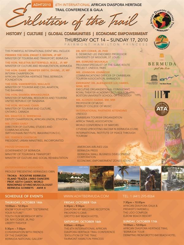 September 24th, 2010 - Bermuda Events