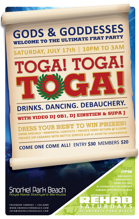 Toga Party Invitations Invitations Ideas – Toga Party Invitations