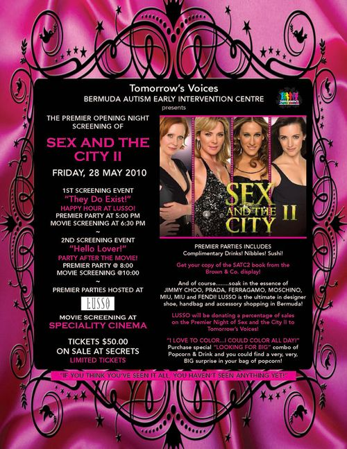 Sex and the city screening