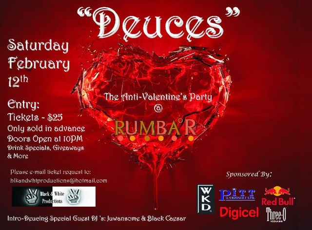 Valentine S 2011 Deuces The Anti Valentine S Party At Rumbar